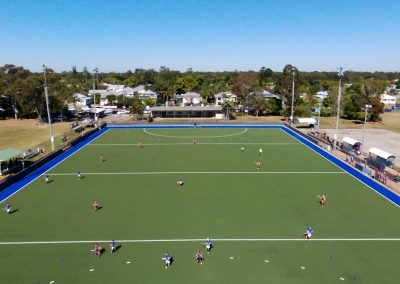 Bundaberg Hockey Aerial View