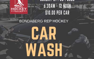 Bundaberg Rep Hockey Car Wash 1st March 2020