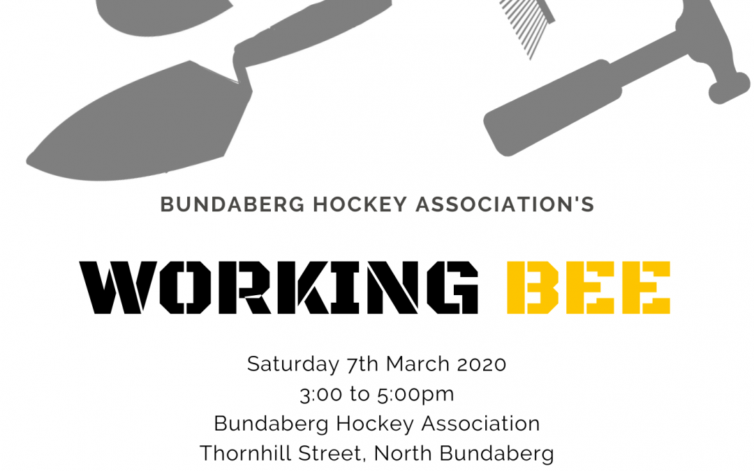BHA Working Bee 2020